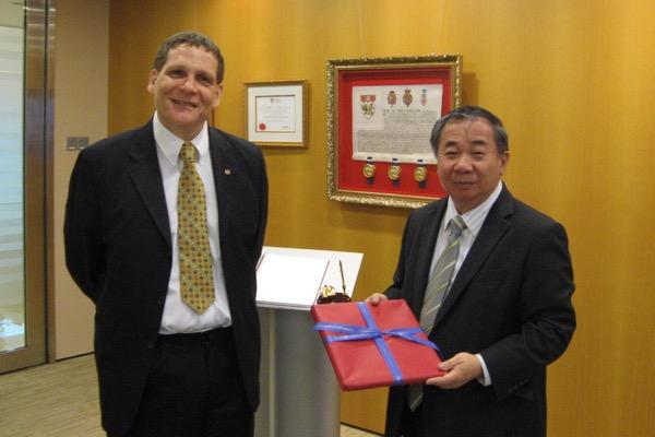 Building ties in Singapore