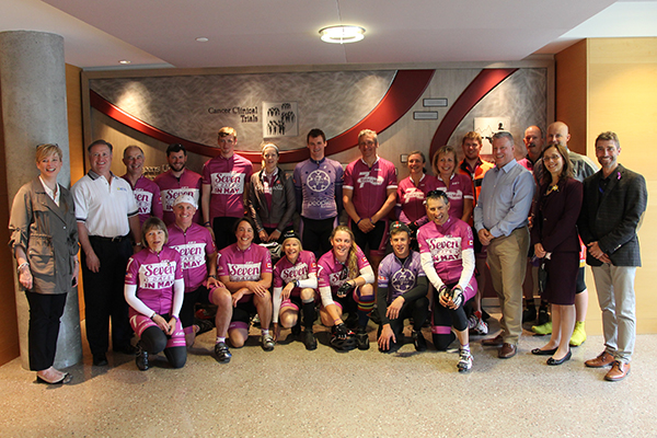 Cycling to help cancer battle
