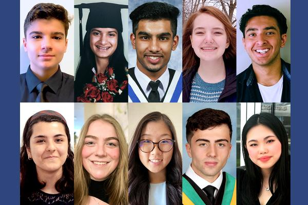 Schulich Leader Scholarships awarded to 10 Queen's students