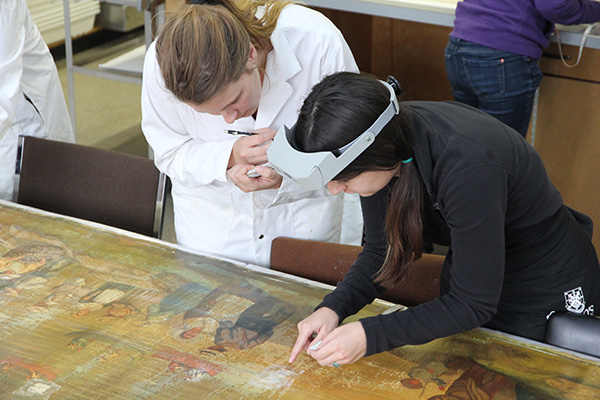 Long-lost mural a valuable learning resource