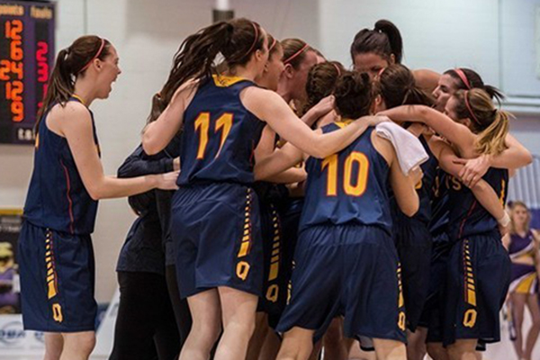 [Gaels celebrate overtime win]