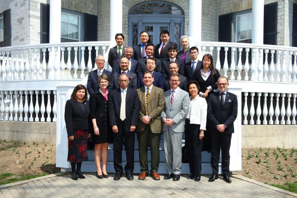 Asia-Pacific diplomats brought together