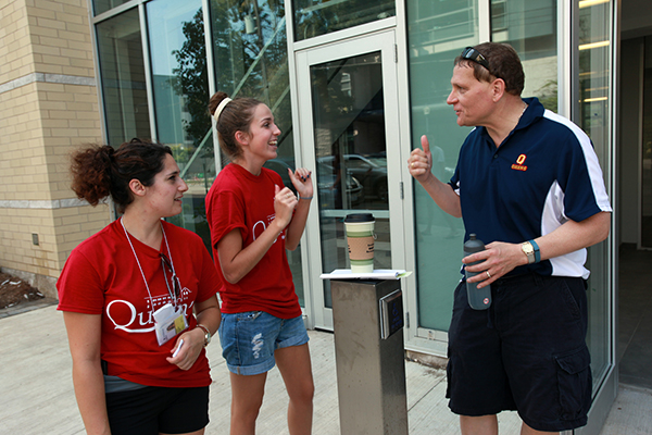 Class of 2019 settles in at Queen's