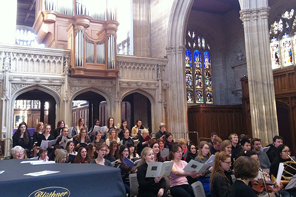 Castle choirs prove 'wonderfully enriching'