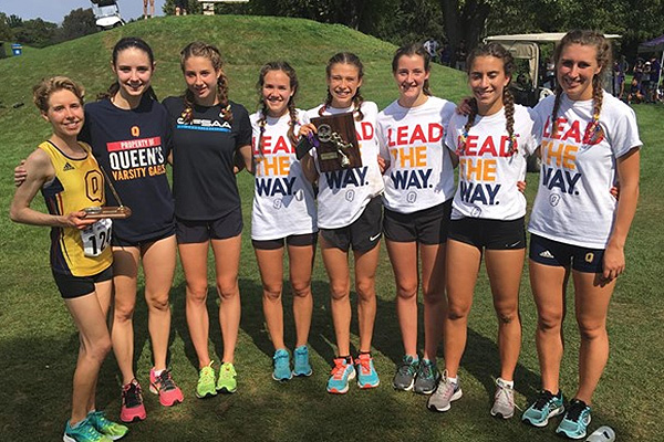 Women's cross country team claims another title
