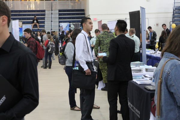 Preparing for the next step at Queen's Career Fair