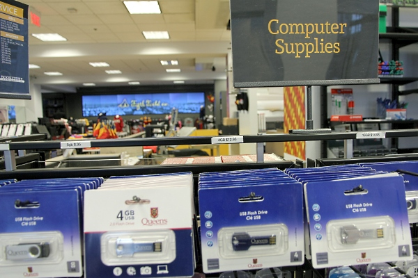 Personal IT items available at Campus Bookstore