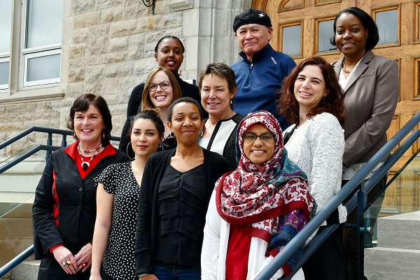 [A group of diversity, inclusion, and reconciliation leaders from across Queen's University]