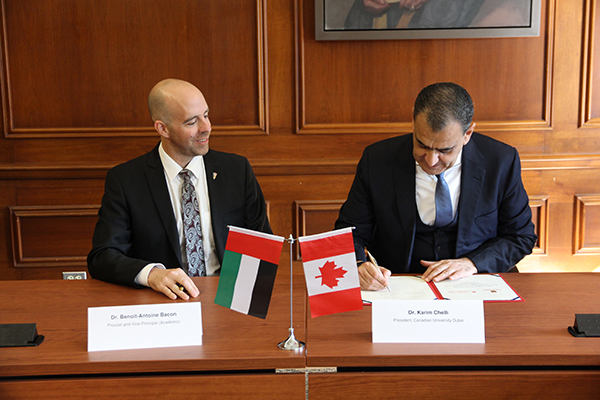 2+2 agreement signed with UAE university