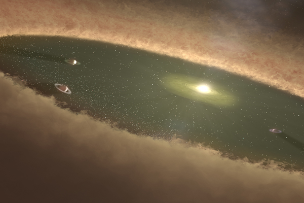 Queen's researcher finds new model of gas giant planet formation