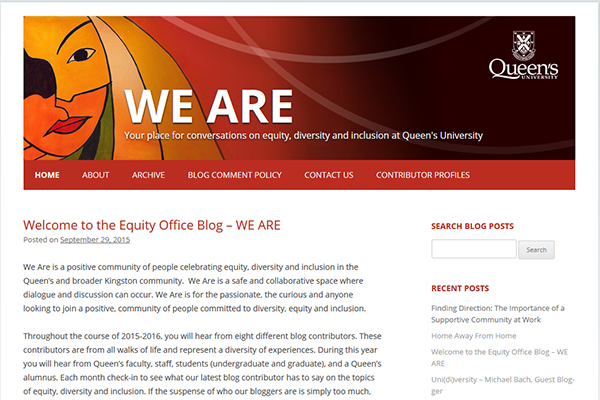 [Equity Blog - We Are]