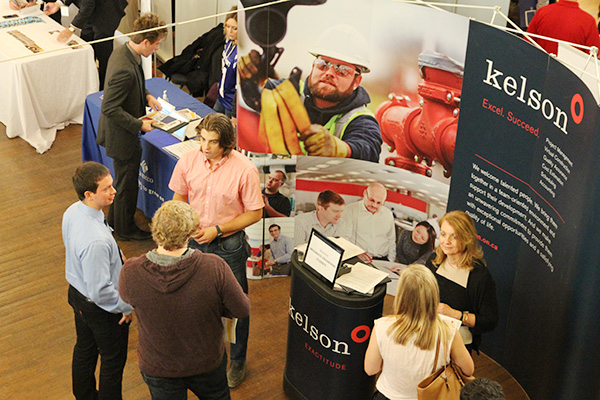 Finding opportunities at the Engineering and Technology Fair