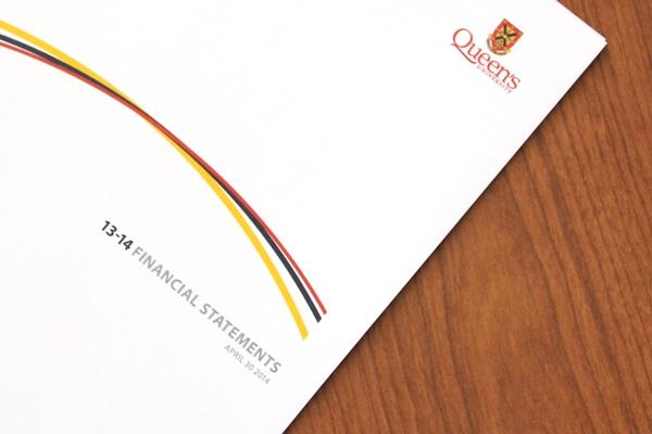 Queen's posts financial statements