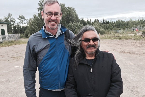 Dean's trip north helps build ties with First Nations