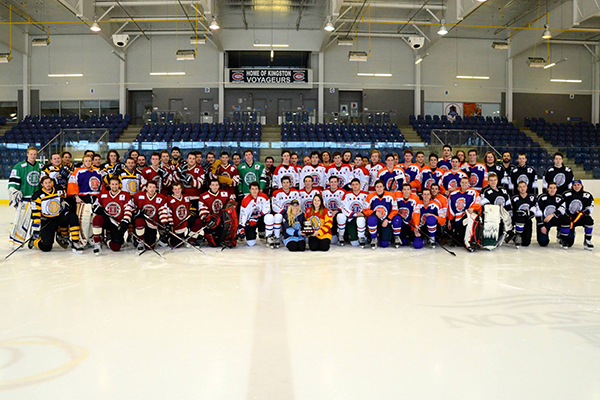 Fundraising hockey tournament tops its goal