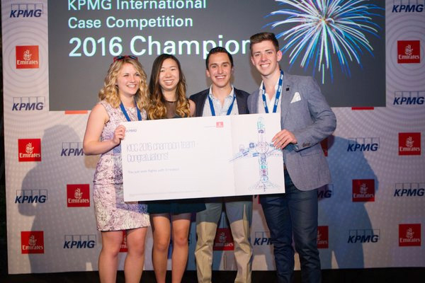 [KPMG International Case Competition Winners]