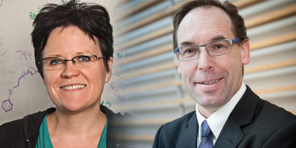 Top honours for two top researchers