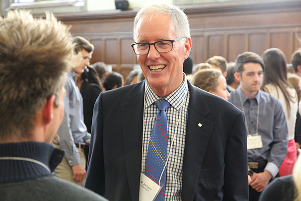 Chancellor announces bursary for Indigenous students