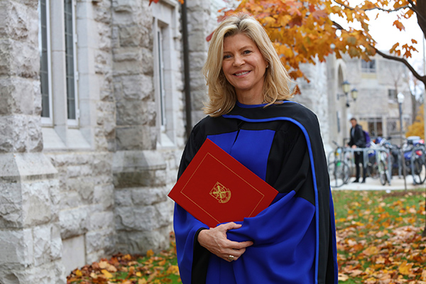 Producing an honorary degree