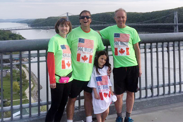 Walking 500 miles to fight Parkinson's