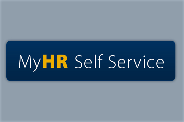 Preparing for MyHR self service portal