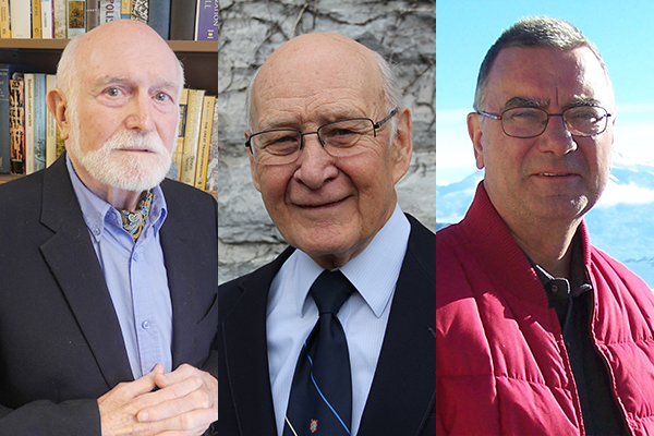Three professors emeriti appointed to Order of Canada
