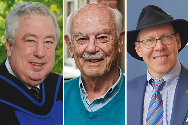 Three Queen's community members appointed to Order of Canada