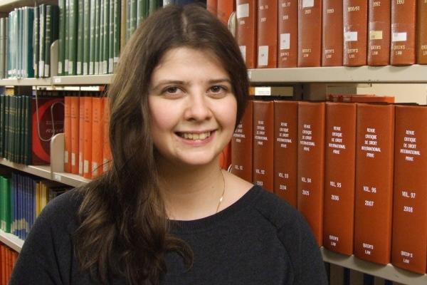PhD candidate lands graduate scholarship