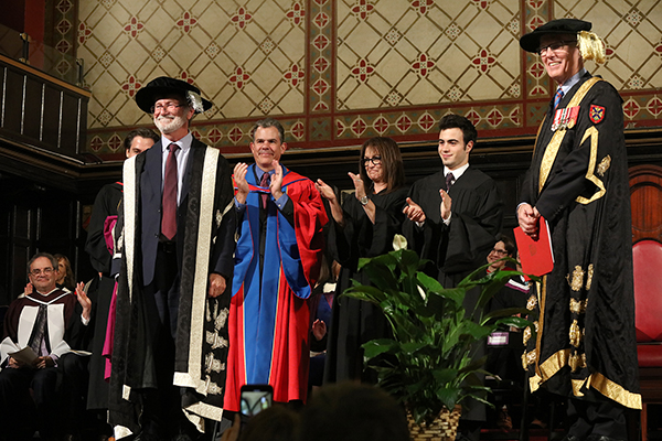 [Patrick Deane is installed as the 21st principal and vice-chancellor of Queen's University]