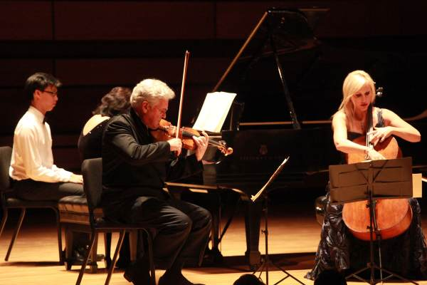 An honorary degree for Pinchas Zukerman