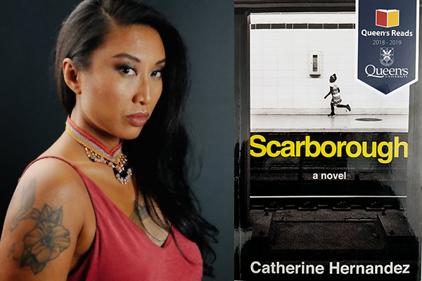 Reading the stories of Scarborough with author
