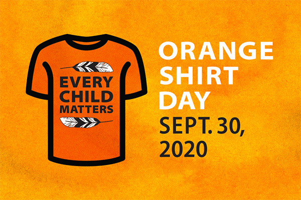 Queen's honours truth and reconciliation on Orange Shirt Day