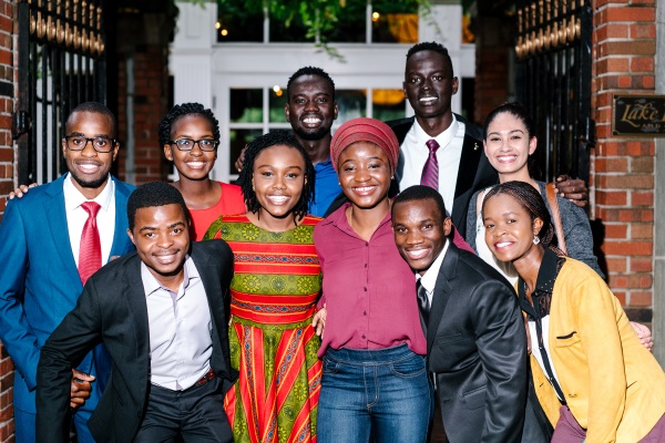 A mission to bolster the strength of Africa's young people