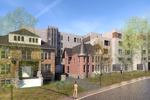 Queen's shares new student residence design