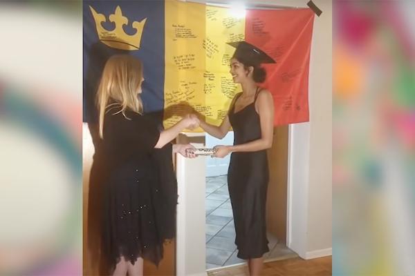 Some Good News Queen's graduation