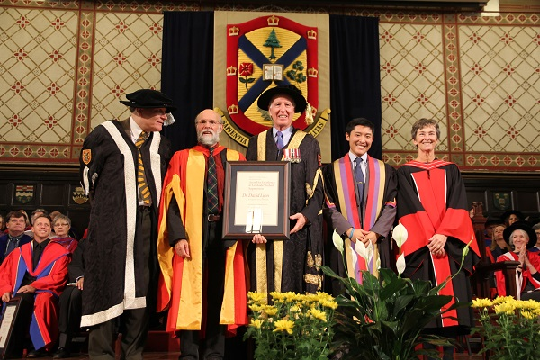 Faculty members honoured for excellence in graduate student supervision