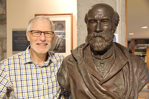 Bronze bust added to Fleming exhibition