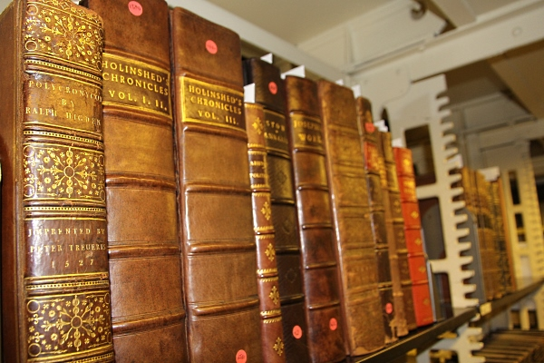 Philanthropist, principal establish rare book collection