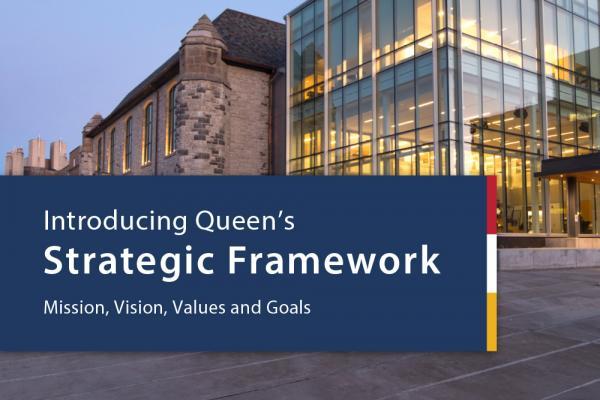 Principal Deane unveils university's strategic framework