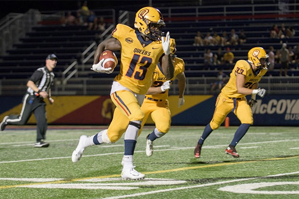 Football Gaels hang on for win over Gryphons