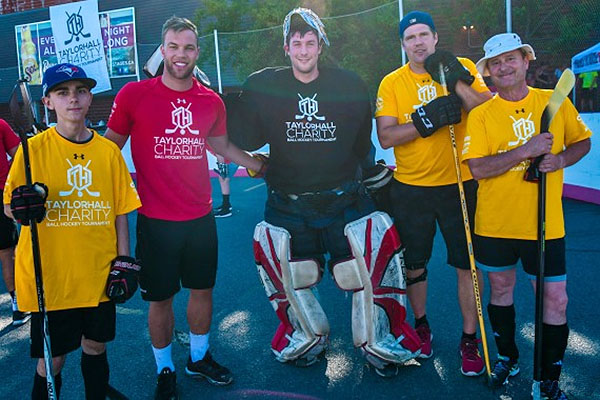 """Taylor Hall Ball Hockey Tournament"""