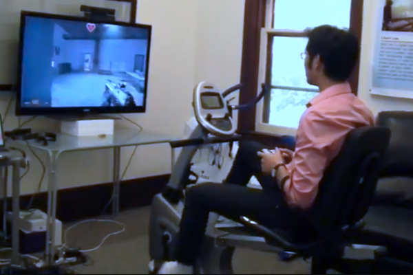 Pedalling into video game future