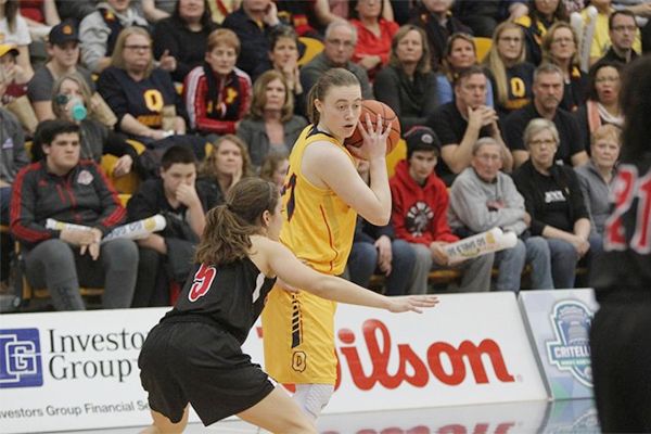 Women's basketball claims OUA silver; Men's hockey advances to final