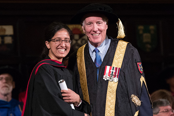 Chancellor honoured for philanthropic leadership