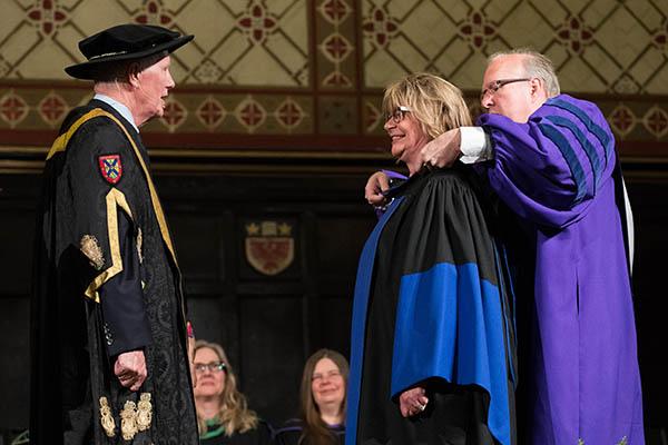 Queen's honours Shelagh Rogers