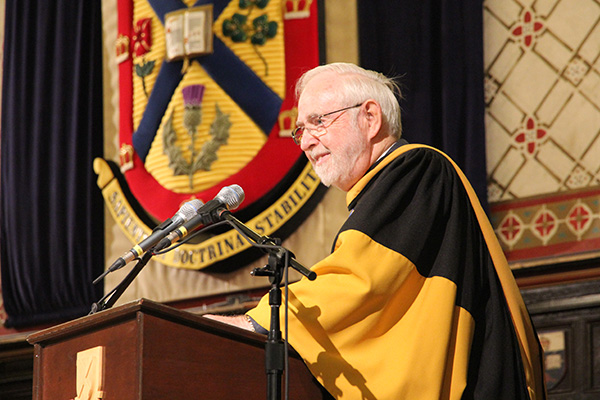 Honorary Degree: Arthur McDonald