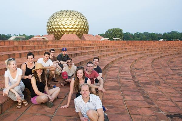 Gaining real-world international experience