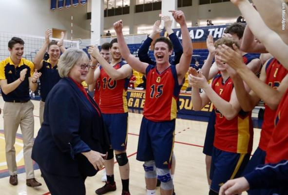 Gaels sweep Rams in final home game for coach Brenda Willis