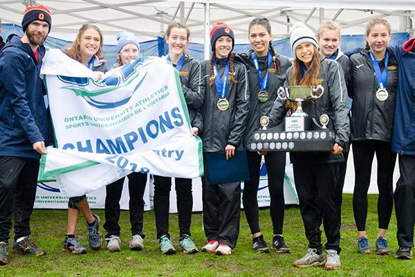 Gaels win OUA women's cross country title