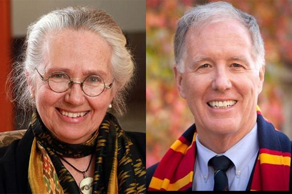Professor emerita, Chancellor honoured for career contributions